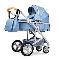 Универсальная коляска трансформер Ninos Brava Light Blue (N2019BRAVALB)