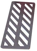 Водозливна решітка чавунна 435х210 мм