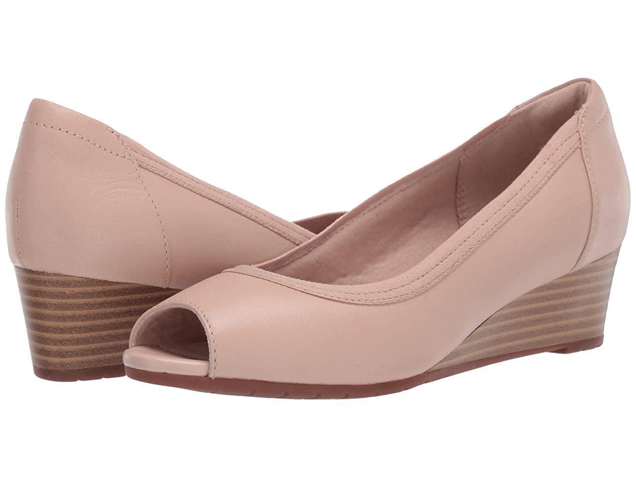 Туфли на каблуке (Оригинал) Clarks Mallory Charm Blush Leather