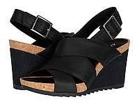 Туфли на каблуке (Оригинал) Clarks Flex Sand Black Leather