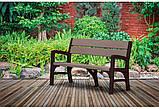Тримісна лавка MONTERO TRIPLE SEAT BENCH графіт-свіло-сірий ( Keter ), фото 4