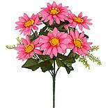 Букет ромашка цветная, 30см (20 шт в уп), фото 2