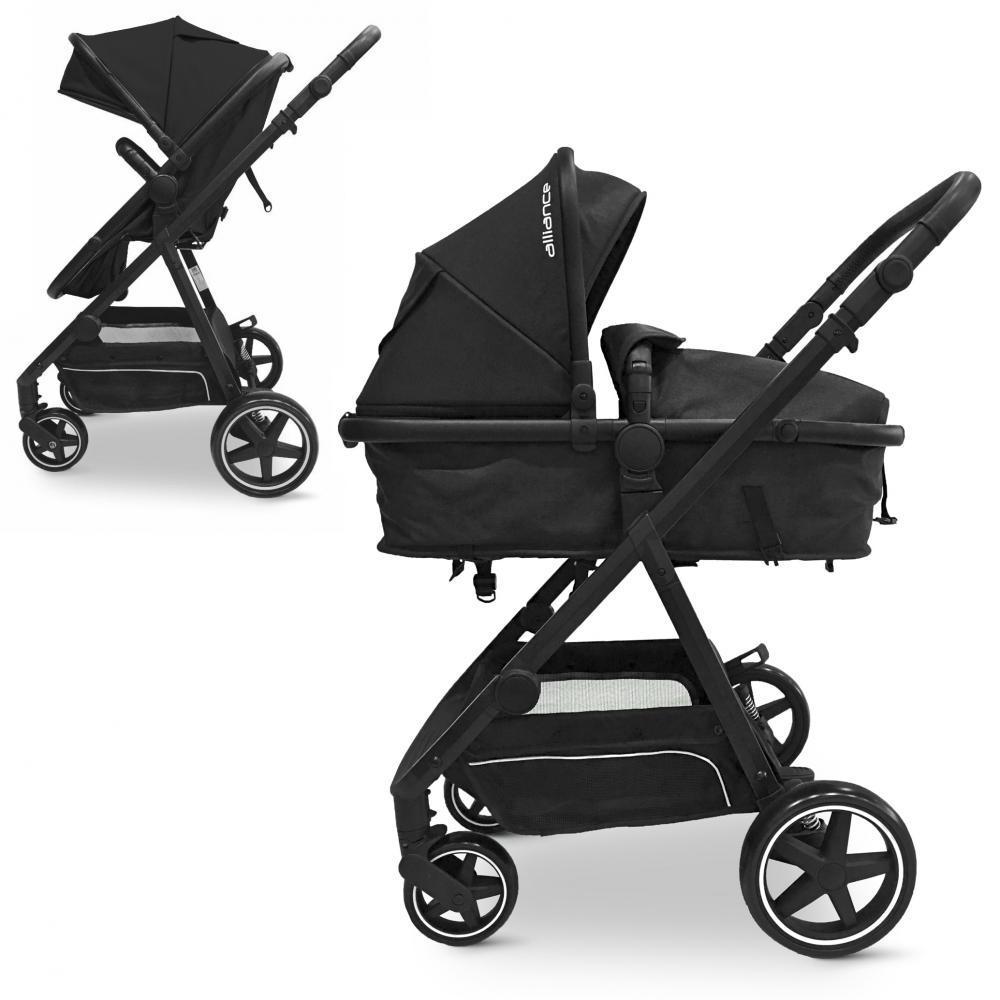 Дитяча универскальная коляска-трансформер ME 1069 ALLIANCE Denim Dark Gray Гарантія якості