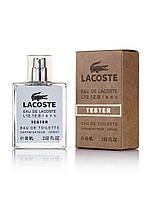 Tester мужская туалетная вода Lacoste Eau De L.12.12 Blanc 60 ml ОАЭ NEW