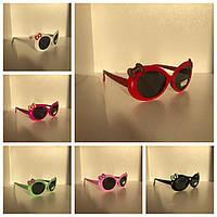 Солнцезащитные очки детские Бантик опт
