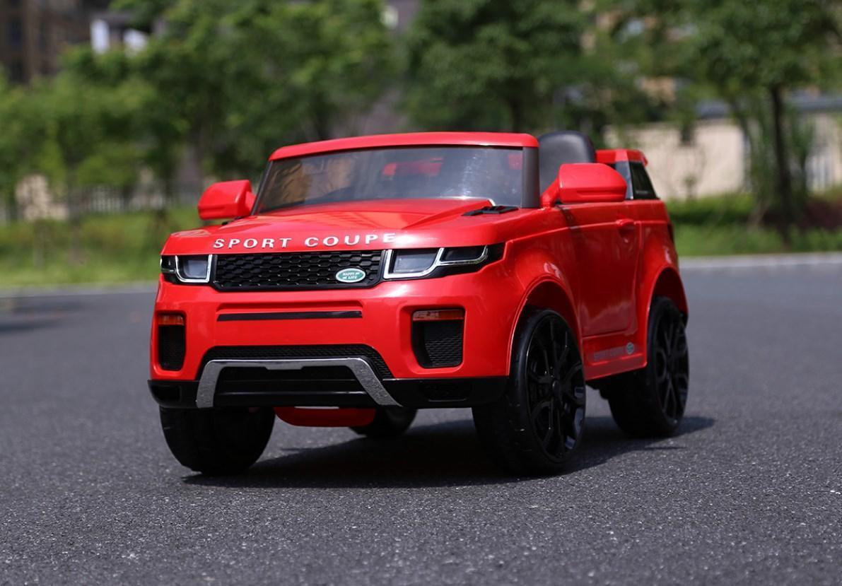 Детский электромобиль T-7832 Red джип, Land Rover