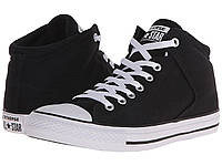 Кроссовки/Кеды (Оригинал) Converse Chuck Taylor® All Star® High Street Mono Canvas Hi Black/Black/White, фото 1