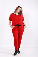 Женский спортивный костюм брючный летний, от 42 до 74 размера