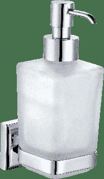 Дозатор для рідкого мила LEONARDO, скло (9933A)