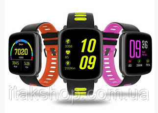 Смарт умные часы King Wear GV68 Pink, фото 3