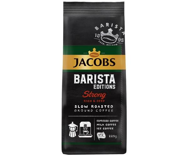 Кофе Jacobs Barista Strong молотый 225 г (8714599103883)