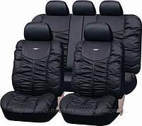 Чехлы на сиденья, PSV Элит качественная экокожа, черные., фото 1