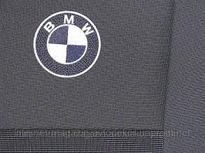 Чехлы ЕМС Элегант для BMW E-46 1998-06 г., цельная спинка.