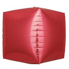 Шарик (30см) 4D Куб коралловый матовый