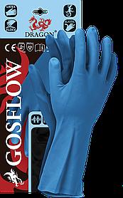 Перчатки защитные REIS DRAGON L Синий (GOSFLOW-N-L)