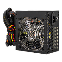 Блок питания LogicPower ATX-600W, APFC, 12см, LED Fan, 2*IDE;3*SATA;8Pin(4+4);8Pin(6+2);24Pin, OEM, фото 1
