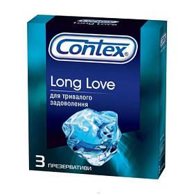 Презервативи Long Love Contex с антисептиком 12 уп. по 3 шт (LL-1203)