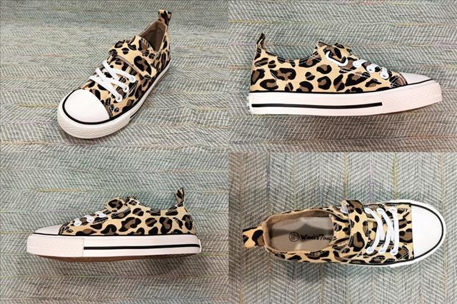 Леопардовые кеды на девочку фото