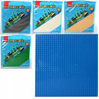 Конструктор, пластина, ігрове поле SLUBAN 25,6*25,6 см, 5 кольорів