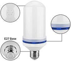 Лампа LED Flame Bulb А+ с эффектом пламени огня, E27, фото 3