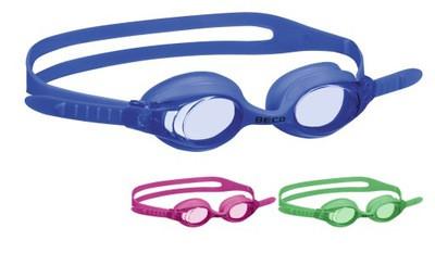 Окуляры для плавания детские BECO Catania 99027 4+ (Синие, розовые, салатовые)