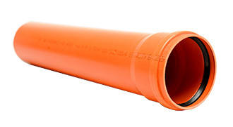 Труба 160/3,2/1000 (Інсталпласт) помаранч.
