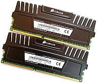 Пара игровой оперативной памяти Corsair DDR3 8Gb (4Gb+4Gb) 1600MHz PC3 12800U 2R8 CL9 (CMZ16GX3M4A1600C9) Б/У, фото 1