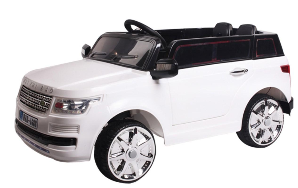 Детский электромобиль T-7835 EVA White , Land Rover, белый