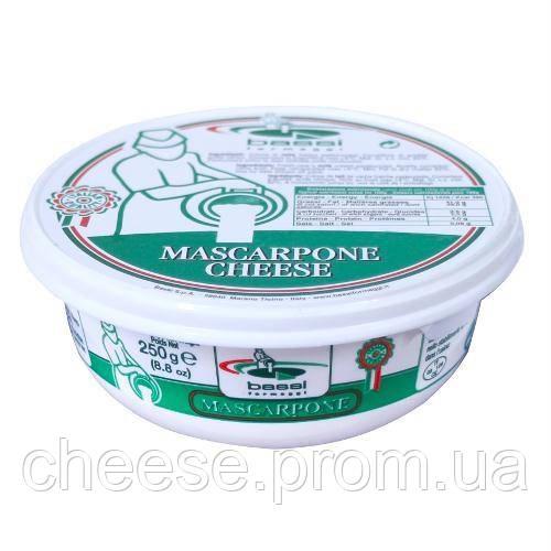 Сыр Mascarpone 82% 250г Bassi