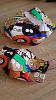 Детская многоразовая тканевая маска фемили лук