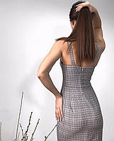 Повседневное женское платье длиной миди, фото 4