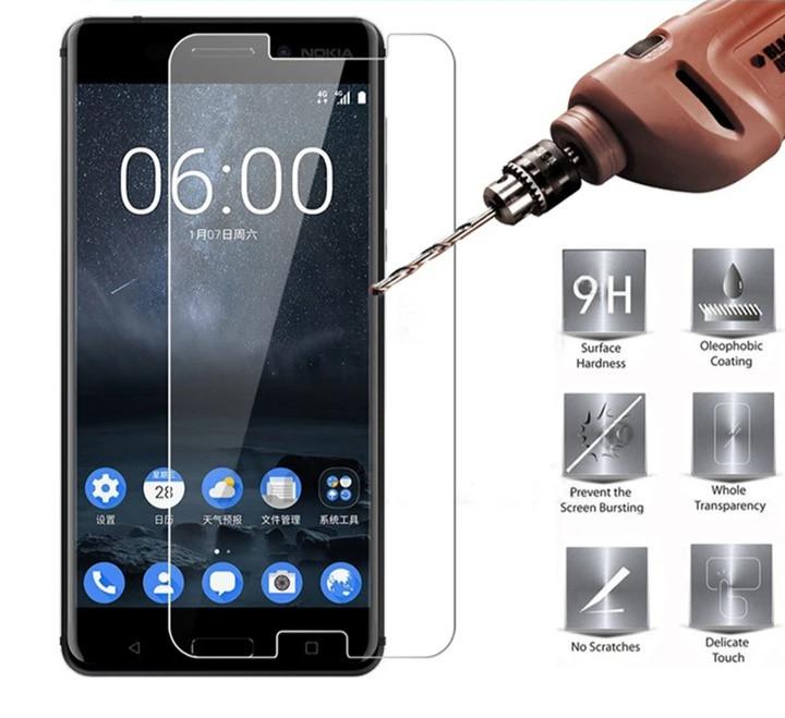 Загартоване захисне скло на Nokia 5