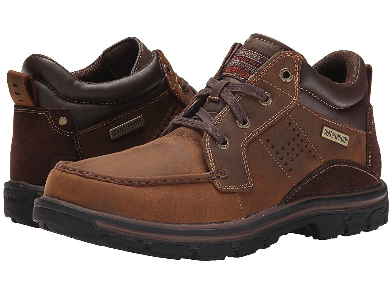 Ботинки/Сапоги (Оригинал) SKECHERS Relaxed Fit Segment - Melego Dark Brown