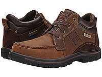 Ботинки/Сапоги (Оригинал) SKECHERS Relaxed Fit Segment - Melego Dark Brown, фото 1