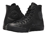 Кроссовки/Кеды Converse Chuck Taylor® All Star® Leather Hi Black Mono Leather