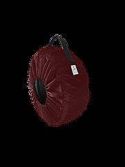 Чехол для колёс Coverbag Eco  M бордо