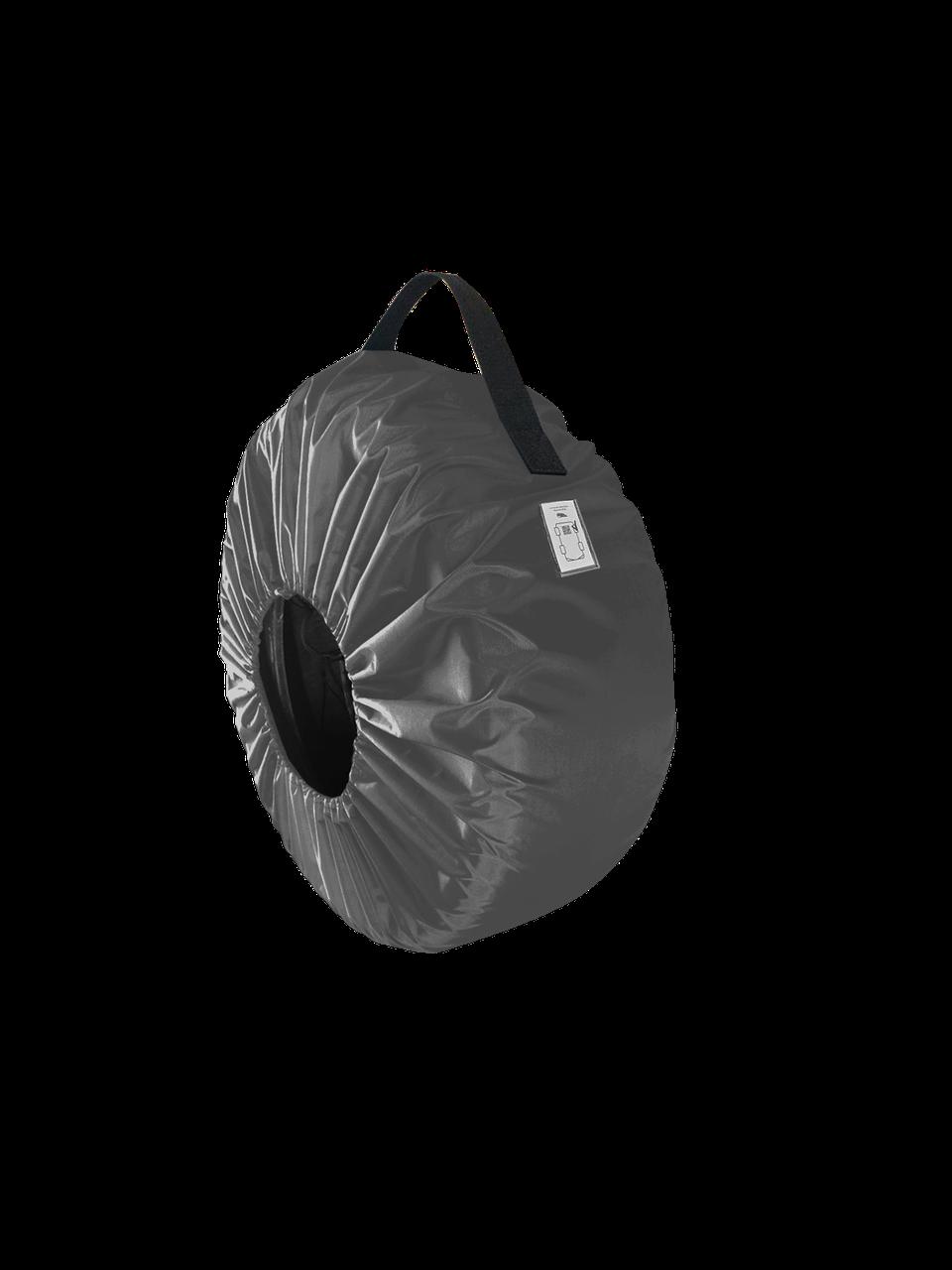 Чехол для колёс Coverbag  Eco M серый