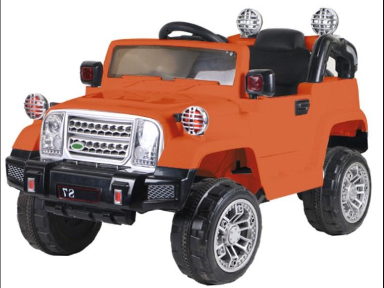 Детский электромобиль T-7838 Oranje Jeep, Оранжевый