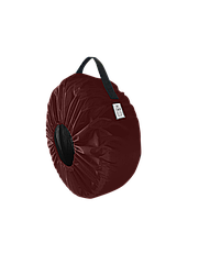 Чехол для колёс Coverbag Eco  S бордо