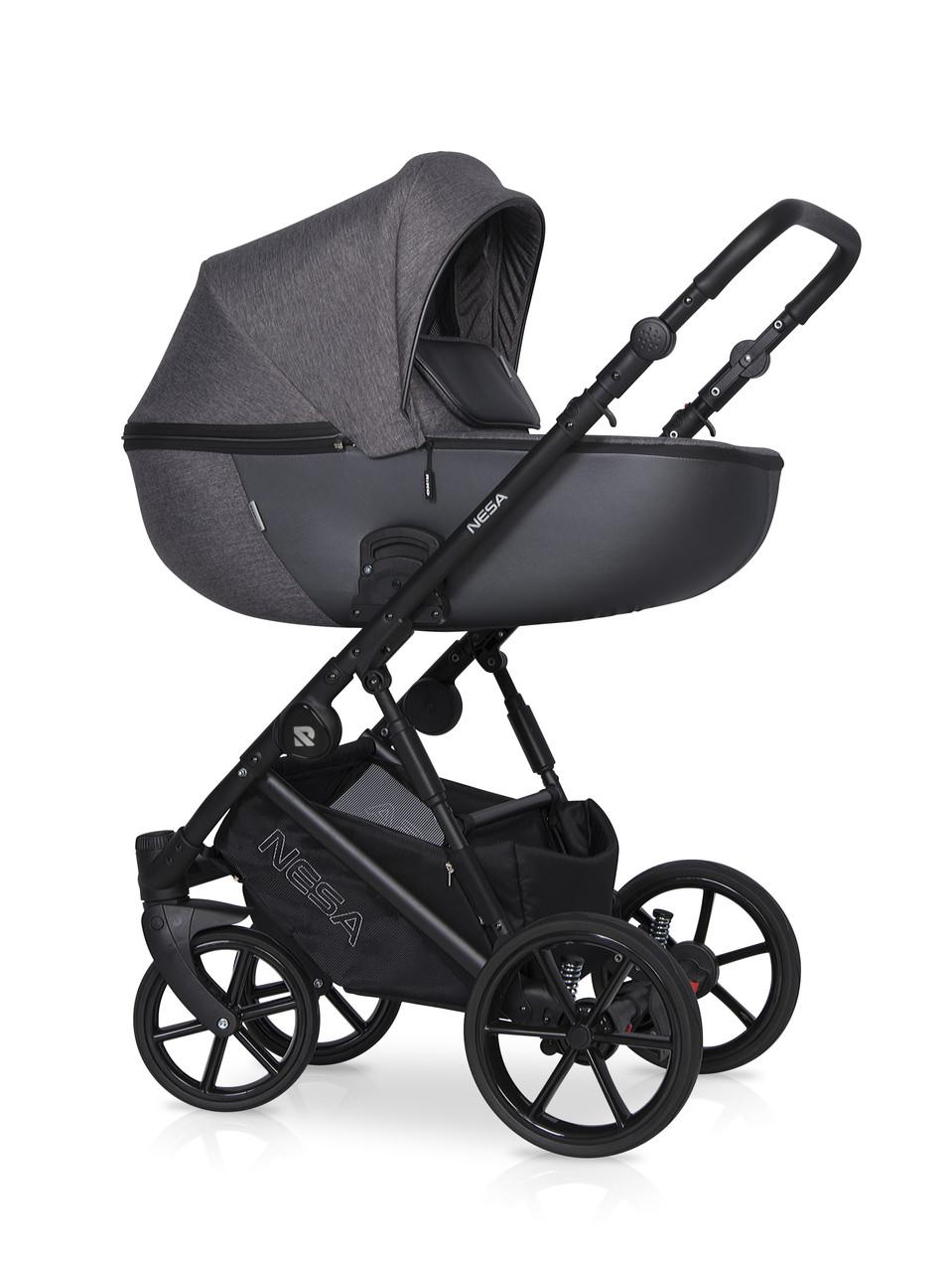 Детская универсальная коляска 2 в 1 Riko Nesa 05 Antracite