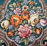 Берегиня 1049-9, павлопосадский платок из вискозы с подрубкой, фото 6