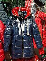 Весенняя куртка-жилетка для девочки