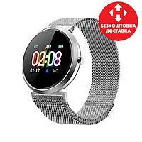 Умные, водонепроницаемые смарт-часы FITUP grey  ( фитнес браслет) (B7091220)