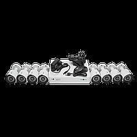 Комплект видеоконтроля (8 уличных видеокамеры) GREEN VISION GV-K-S14/08 1080P, фото 1