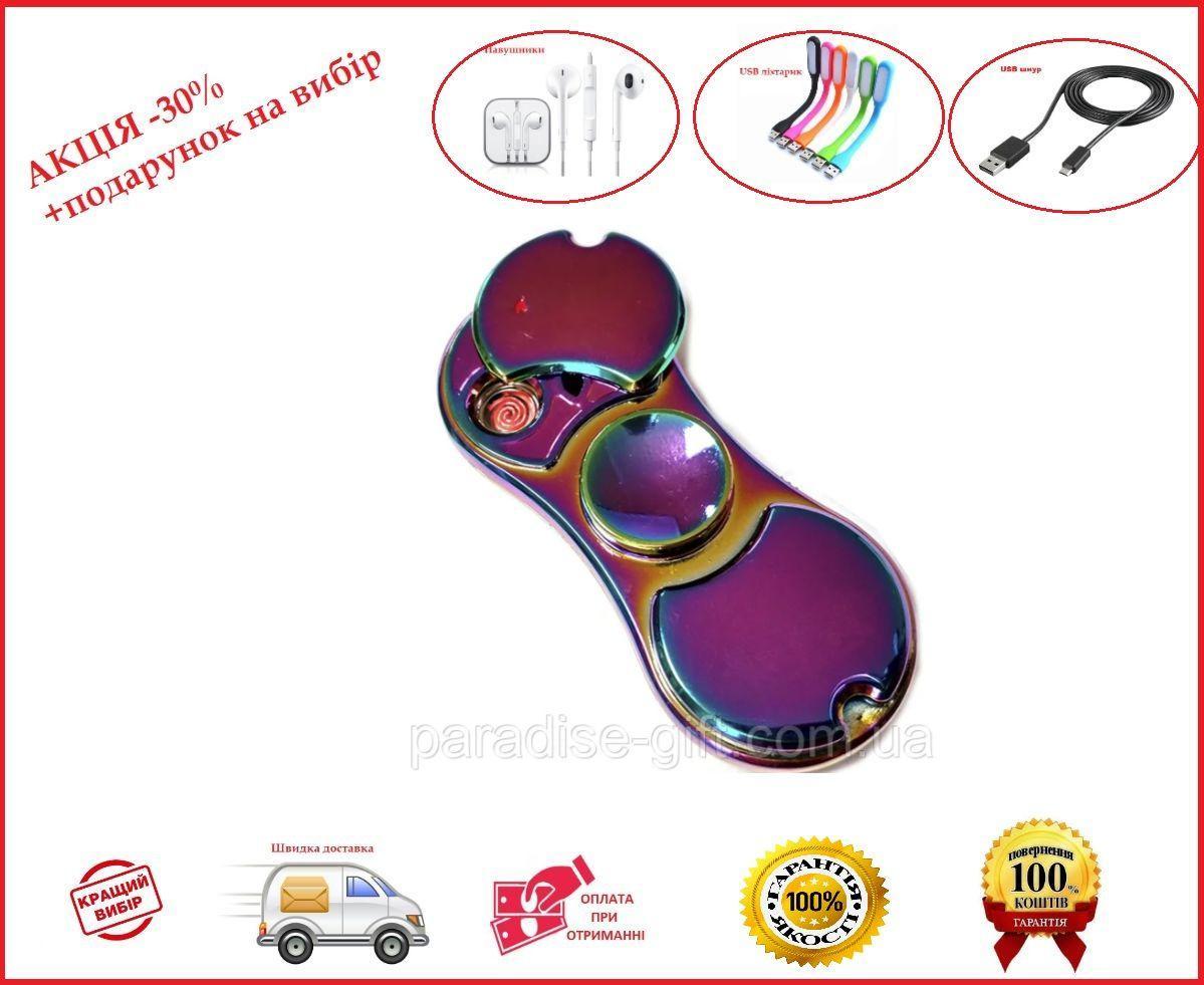 USB Зажигалка хамелеон спиннер