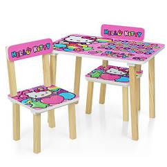 Детский столик Hello Kitty 501-49 со стульчиками
