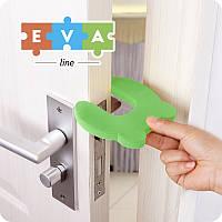 Стопор двери (Защита на двери для детей) Eva-Line 105*100*10 мм