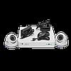 Комплект видеоконтроля (2 уличных видеокамеры) GREEN VISION GV-K-S15/02 1080P