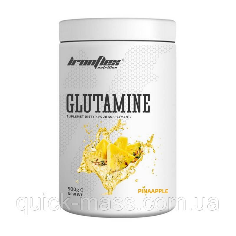 Глютамин Ironflex Glutamine 500g