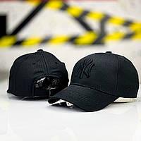 Кепка мужская new york x black  | бейсболка ЛЮКС, фото 1